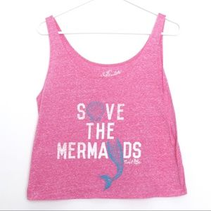Salt Life Save the Mermaids Tank NWOT